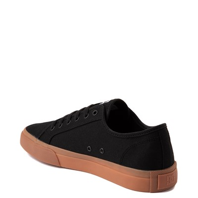 Alternate view of Mens DC Manual Skate Shoe - Black / Gum