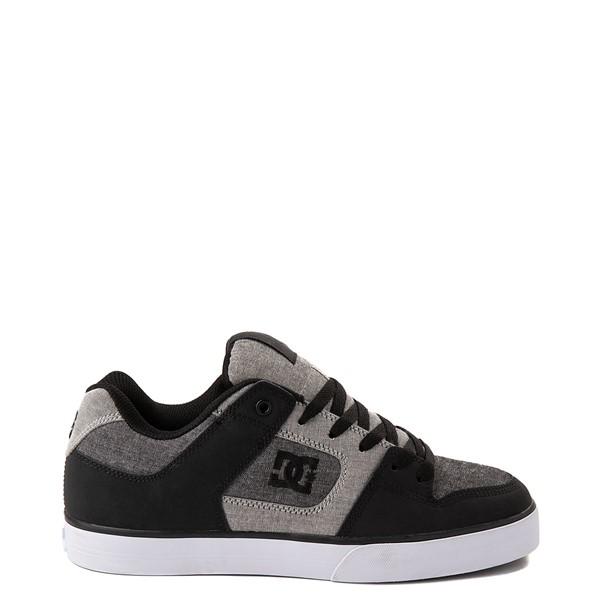 Mens DC Pure Skate Shoe - Black / Gray