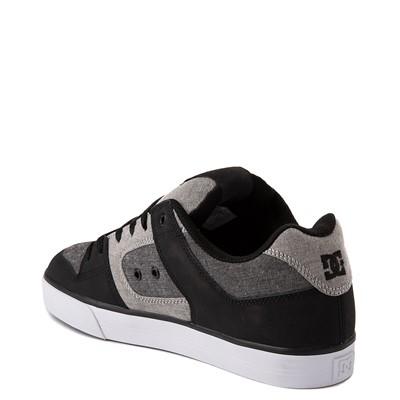 Alternate view of Mens DC Pure Skate Shoe - Black / Gray