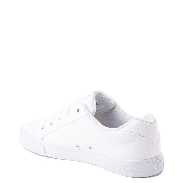 alternate view Womens DC Chelsea Skate Shoe - WhiteALT1