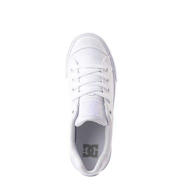 alternate view Womens DC Chelsea Skate Shoe - WhiteALT4B