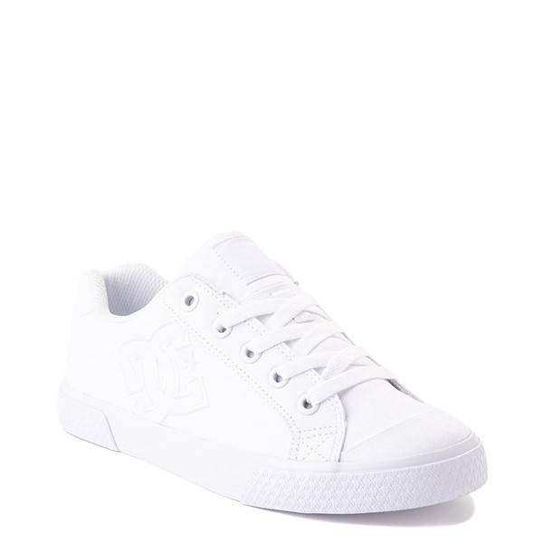 alternate view Womens DC Chelsea Skate Shoe - WhiteALT5