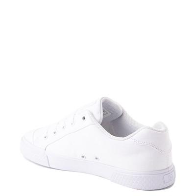 Alternate view of Womens DC Chelsea Skate Shoe - White