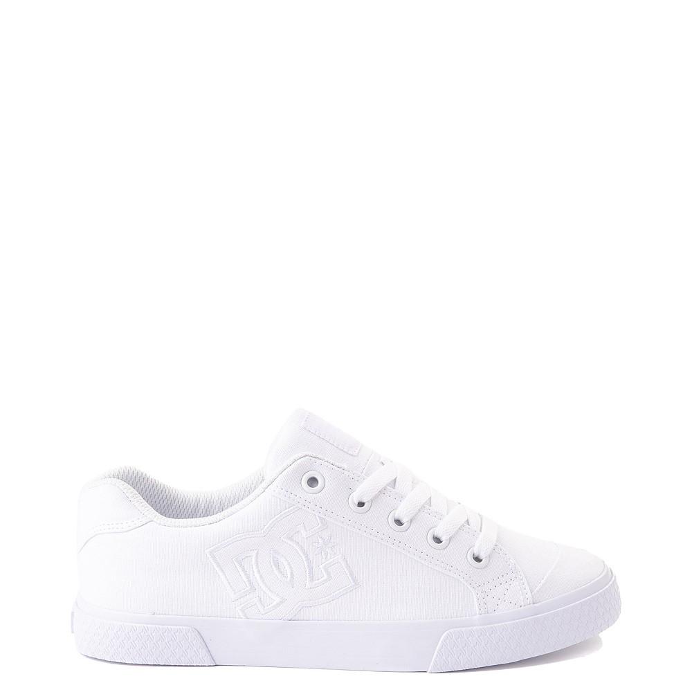 Womens DC Chelsea Skate Shoe - White