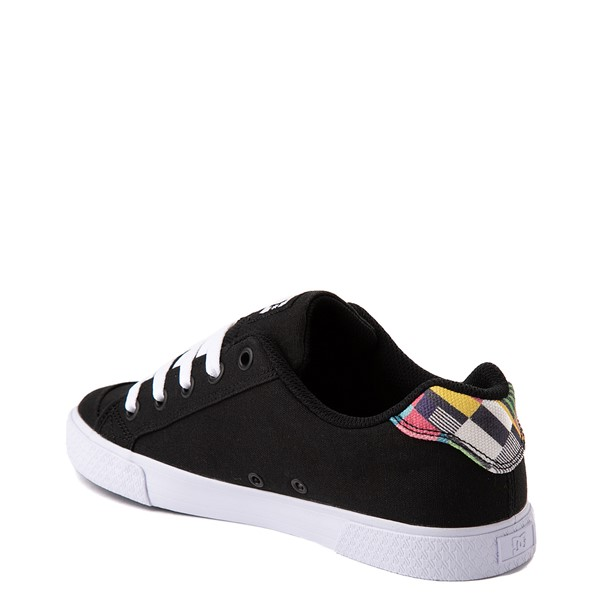 alternate view Womens DC Chelsea Skate Shoe - Black / MulticolorALT2