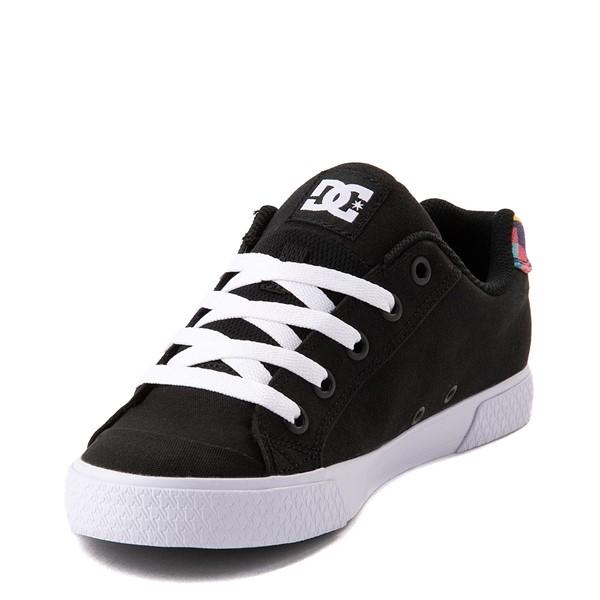 alternate view Womens DC Chelsea Skate Shoe - Black / MulticolorALT3