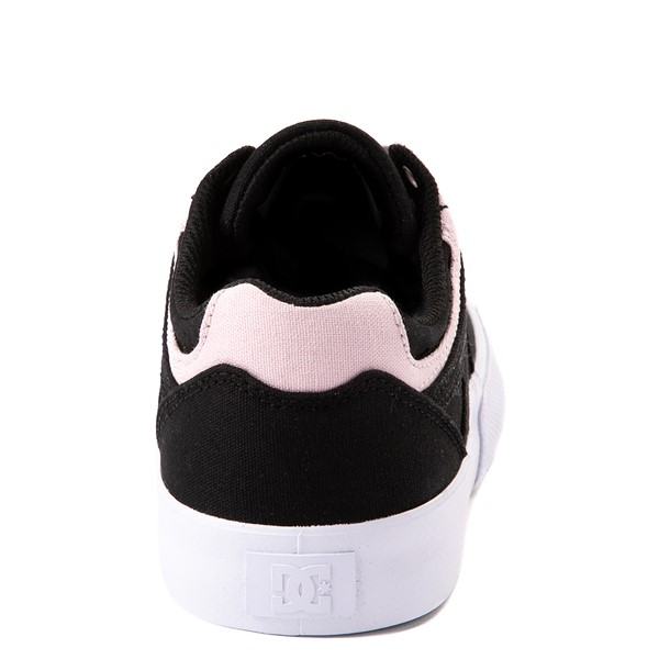 alternate view Womens DC Kalis Vulc Skate Shoe - Black / PinkALT4