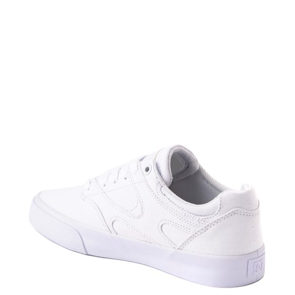 alternate view Womens DC Kalis Vulc Skate Shoe - WhiteALT1