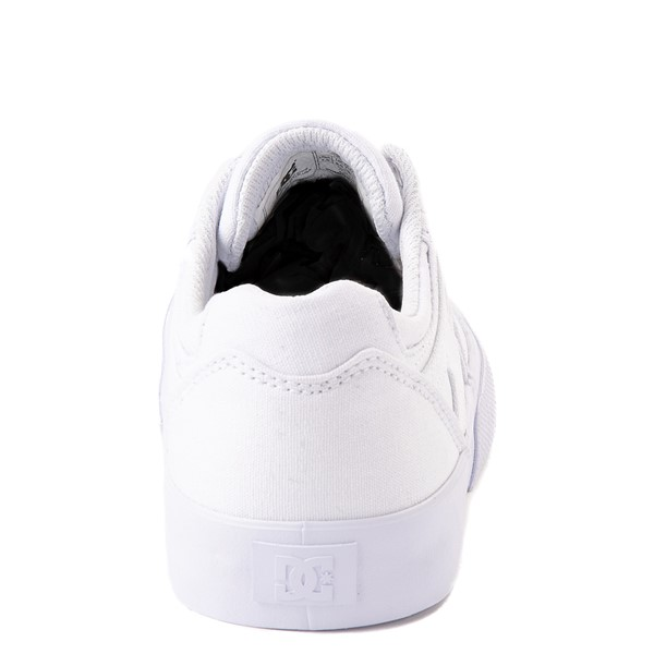 alternate view Womens DC Kalis Vulc Skate Shoe - WhiteALT4