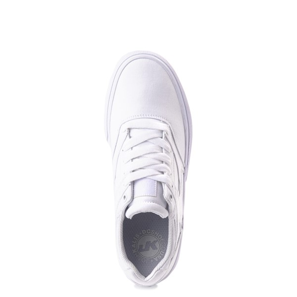 alternate view Womens DC Kalis Vulc Skate Shoe - WhiteALT4B