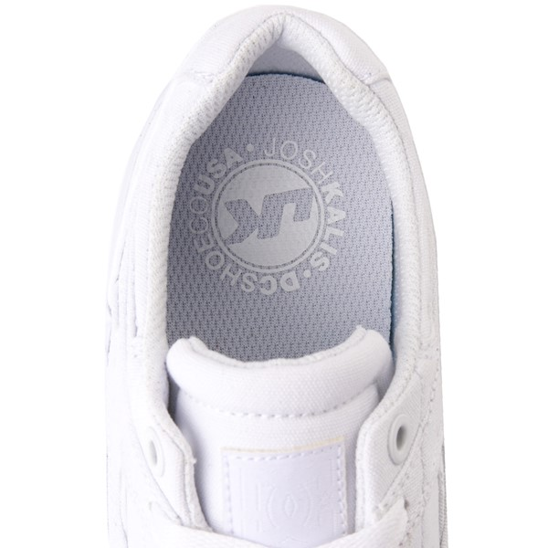 alternate view Womens DC Kalis Vulc Skate Shoe - WhiteALT4C
