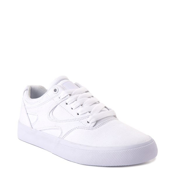 alternate view Womens DC Kalis Vulc Skate Shoe - WhiteALT5
