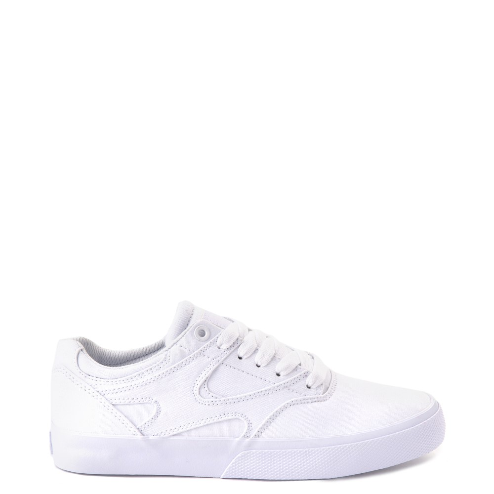 Womens DC Kalis Vulc Skate Shoe - White