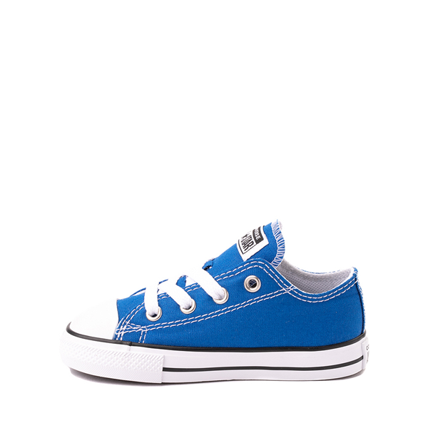 alternate view Converse Chuck Taylor All Star Lo Sneaker - Baby / Toddler - Snorkel BlueALT1