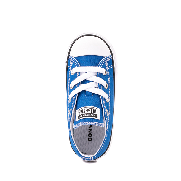 alternate view Converse Chuck Taylor All Star Lo Sneaker - Baby / Toddler - Snorkel BlueALT2
