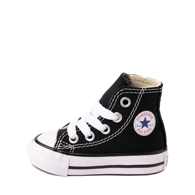 Alternate view of Converse Chuck Taylor All Star Hi Sneaker - Baby - Black