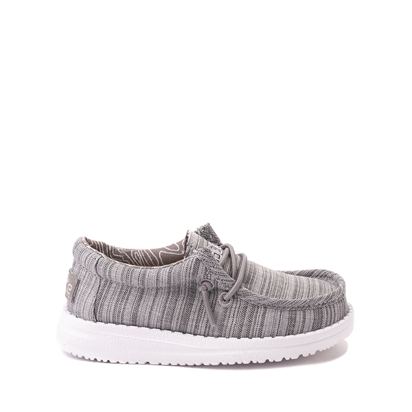 Main view of Hey Dude Wally Casual Shoe - Toddler / Little Kid - Stone