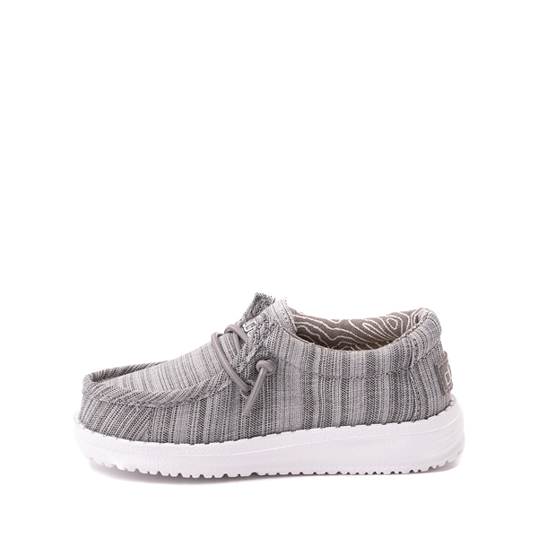 alternate view Hey Dude Wally Casual Shoe - Toddler / Little Kid - StoneALT1