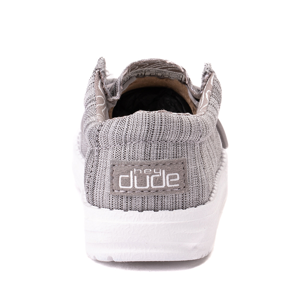 alternate view Hey Dude Wally Casual Shoe - Toddler / Little Kid - StoneALT4