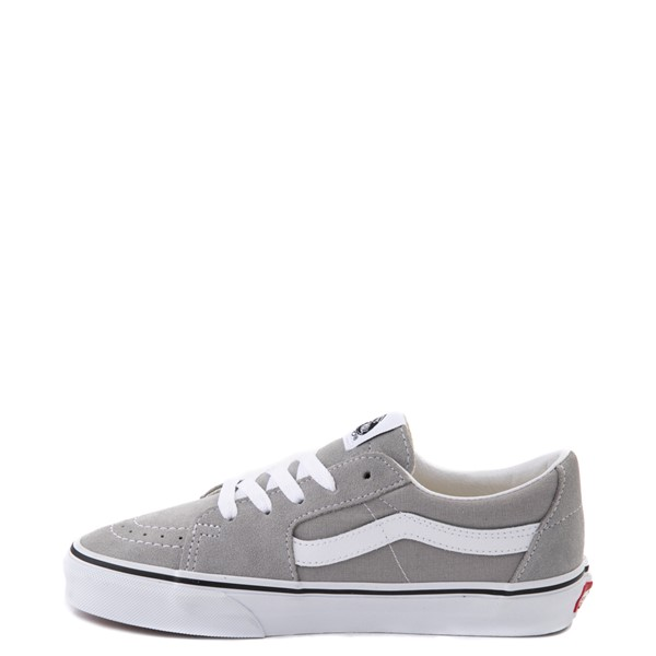 alternate view Vans Sk8 Low Skate Shoe - Drizzle GrayALT1