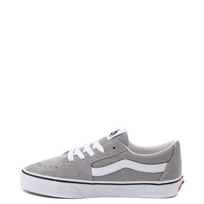 Alternate view of Vans Sk8 Low Skate Shoe - Drizzle Gray