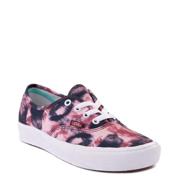 alternate view Vans Authentic ComfyCush® Skate Shoe - Grunge Wash Tie DyeALT5