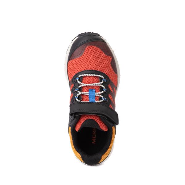 alternate view Merrell Nova 2 Sneaker - Little Kid / Big Kid - Black / RustALT2