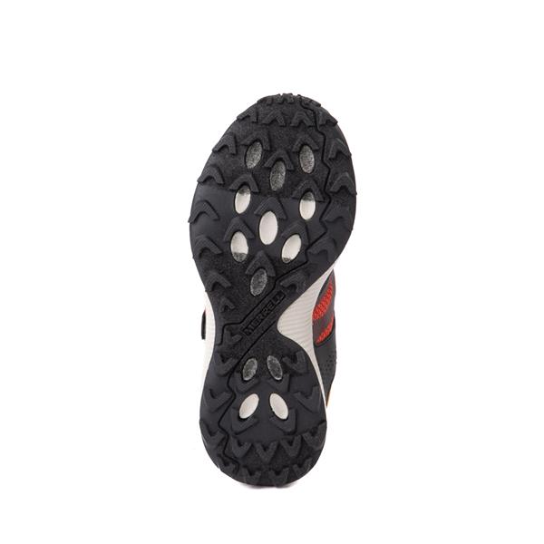 alternate view Merrell Nova 2 Sneaker - Little Kid / Big Kid - Black / RustALT3