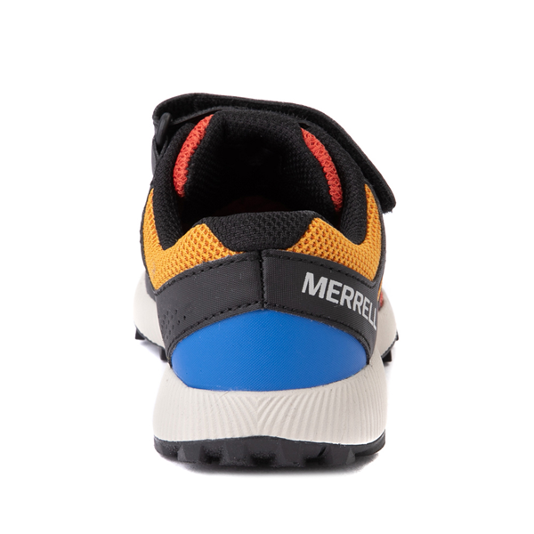 alternate view Merrell Nova 2 Sneaker - Little Kid / Big Kid - Black / RustALT4