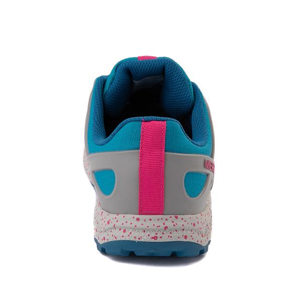 alternate view Merrell Altalight Lo Sneaker - Toddler / Little Kid / Big Kid - Gray / TurquoiseALT4