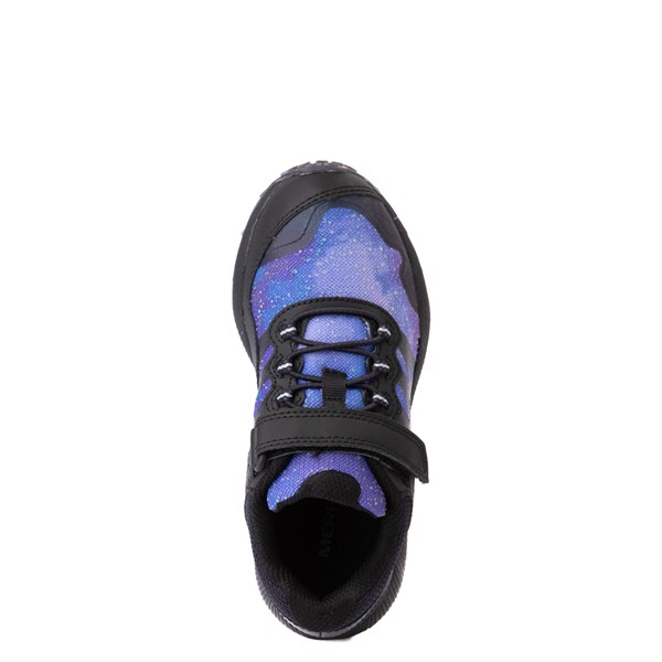 alternate view Merrell Nova 2 Sneaker - Little Kid / Big Kid - Black / Night SkyALT2