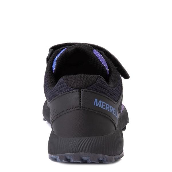 alternate view Merrell Nova 2 Sneaker - Little Kid / Big Kid - Black / Night SkyALT4