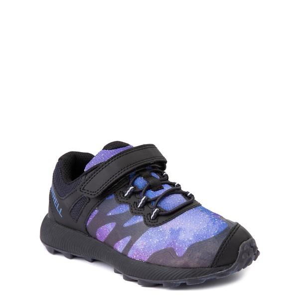 alternate view Merrell Nova 2 Sneaker - Little Kid / Big Kid - Black / Night SkyALT5