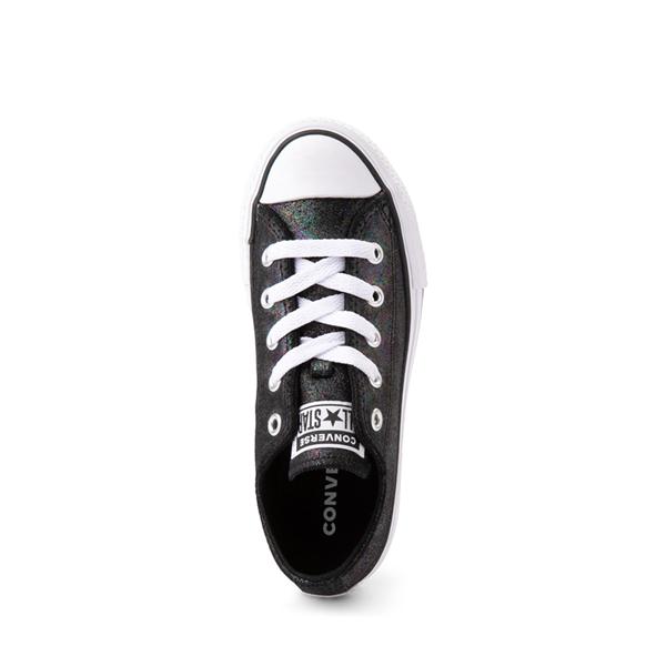 alternate view Converse Chuck Taylor All Star Lift Lo Sneaker - Little Kid / Big Kid - Black / IridescentALT2
