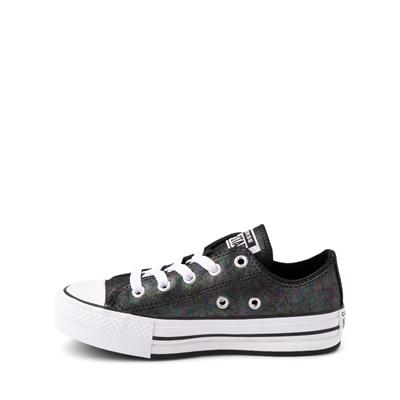 Alternate view of Converse Chuck Taylor All Star Lift Lo Sneaker - Little Kid / Big Kid - Black / Iridescent