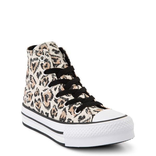 alternate view Converse Chuck Taylor All Star Lift Hi Sneaker - Little Kid / Big Kid - SafariALT5