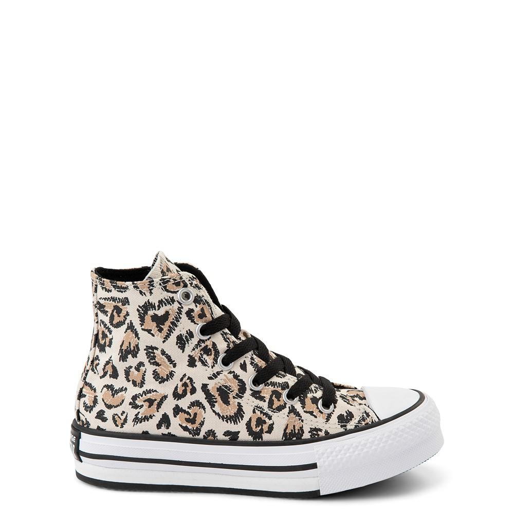 Converse Chuck Taylor All Star Lift Hi Sneaker - Little Kid / Big Kid - Safari