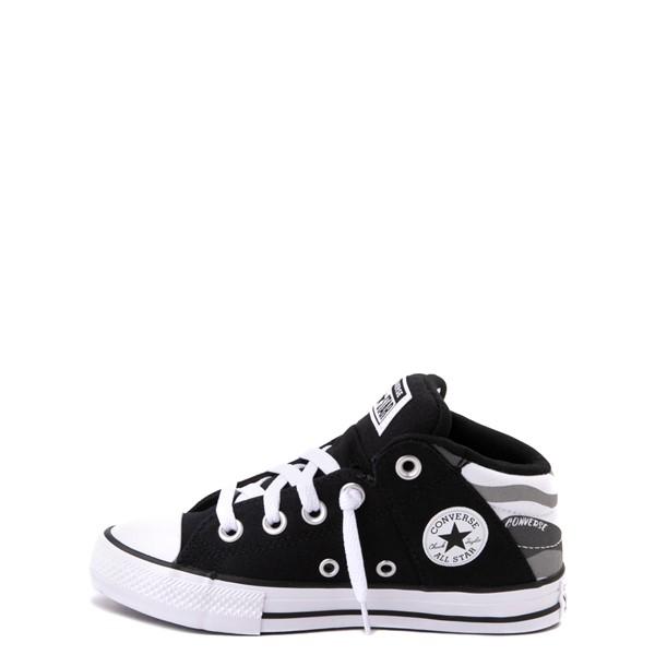 alternate view Converse Chuck Taylor All Star Axel Mid Sneaker - Little Kid / Big Kid - Black / Gray CamoALT1