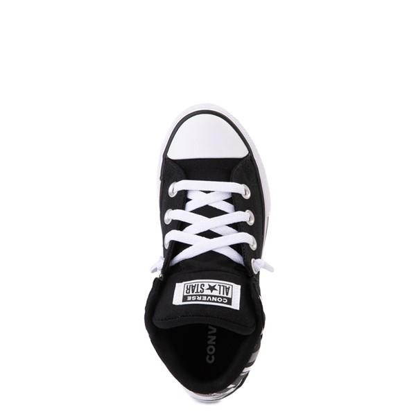 alternate view Converse Chuck Taylor All Star Axel Mid Sneaker - Little Kid / Big Kid - Black / Gray CamoALT2