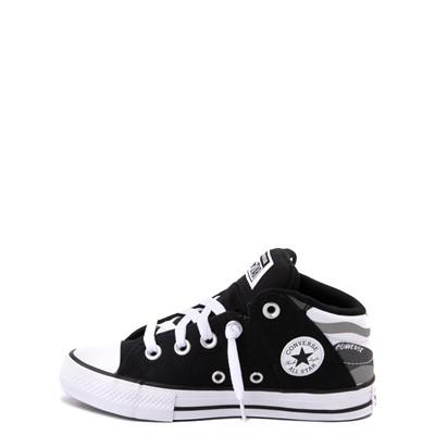 Alternate view of Converse Chuck Taylor All Star Axel Mid Sneaker - Little Kid / Big Kid - Black / Gray Camo