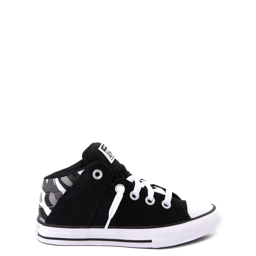Converse Chuck Taylor All Star Axel Mid Sneaker - Little Kid / Big Kid - Black / Gray Camo