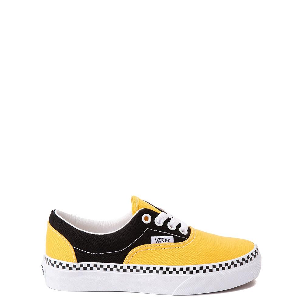 Vans Era Checkerboard Skate Shoe - Little Kid - Spectra Yellow / Black