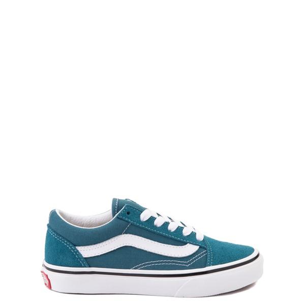 Vans Old Skool Skate Shoe - Little Kid - Blue Coral