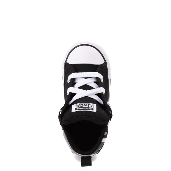 alternate view Converse Chuck Taylor All Star Axel Mid Sneaker - Baby / Toddler - Black / Gray CamoALT2