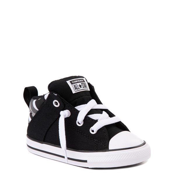 alternate view Converse Chuck Taylor All Star Axel Mid Sneaker - Baby / Toddler - Black / Gray CamoALT5
