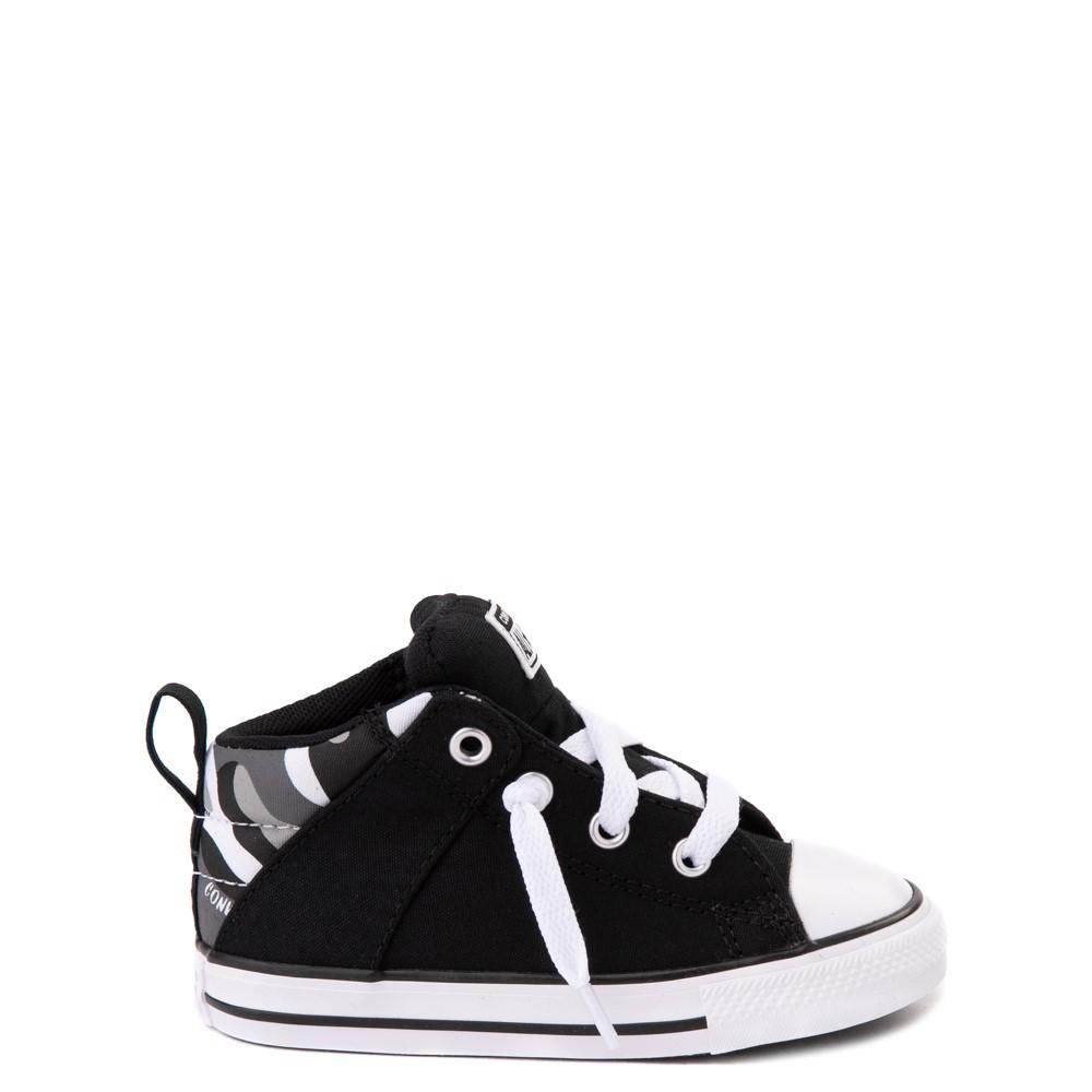 Converse Chuck Taylor All Star Axel Mid Sneaker - Baby / Toddler - Black / Gray Camo