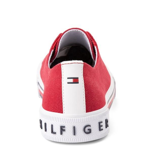 alternate view Womens Tommy Hilfiger Hopz 2 Slip On Casual Shoe - RedALT4