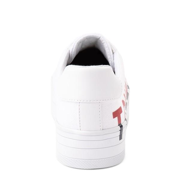 alternate view Womens Tommy Hilfiger Blasee Platform Casual Shoe - WhiteALT4