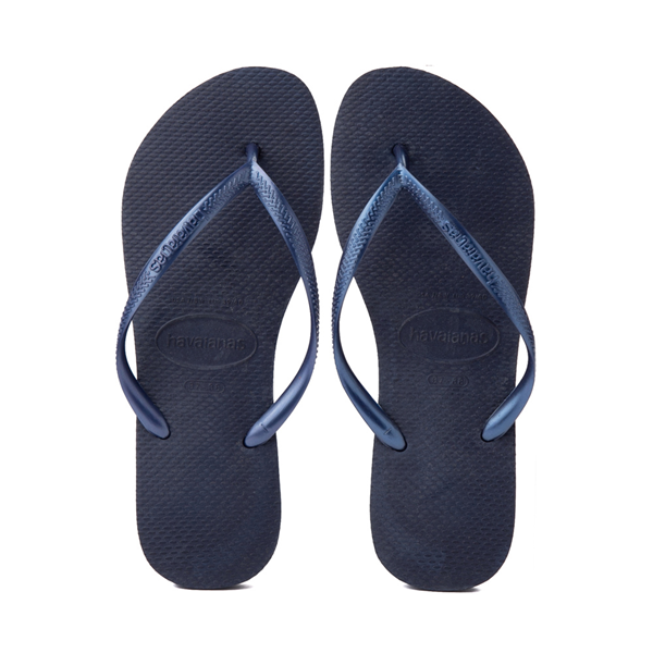 Main view of Womens Havaianas Slim Sandal - Navy
