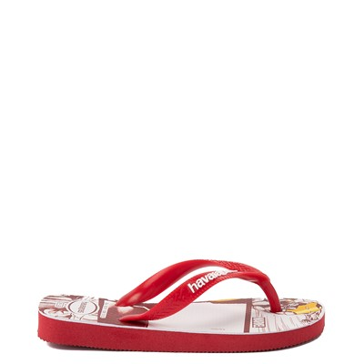 Alternate view of Mens Havaianas Marvel Iron Man Top Sandal - Red